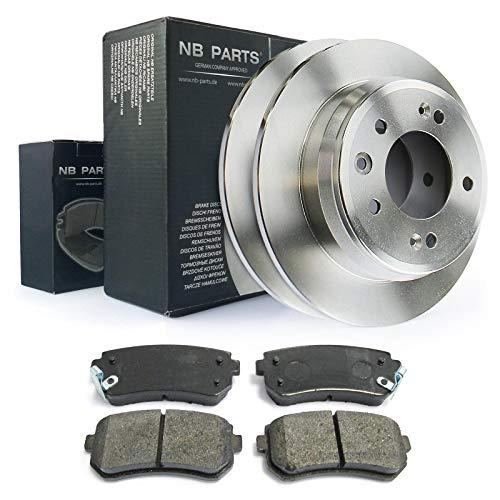 Bremsen/Bremsscheiben + Bremsbeläge hinten NB PARTS GERMANY 10044707