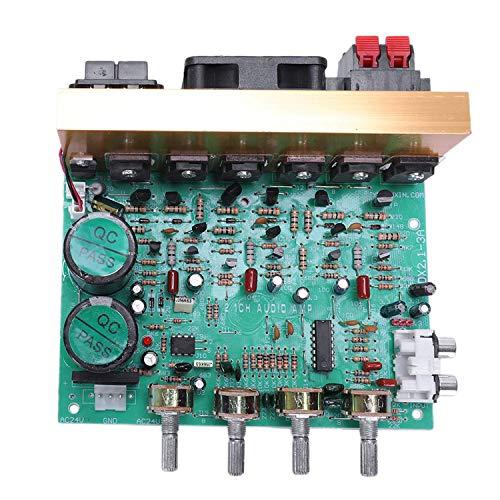 Lopbinte - Piastra Amplificatore Audio 2.1 Canale, 240 W, subwoofer ad Alta Potenza, Piastra Amplificatore amp Dual AC18-24 V per Cinema in casa