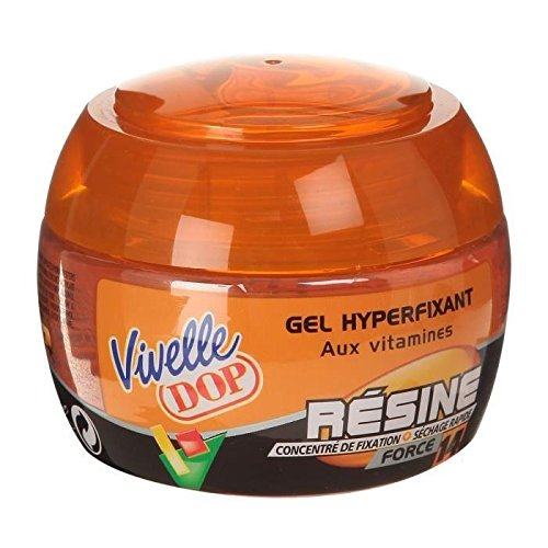 VIVELLE DOP - Gel Coiffant Hyperfixant aux Vitamines Résine Force 14 Pour Homme - 150 ml