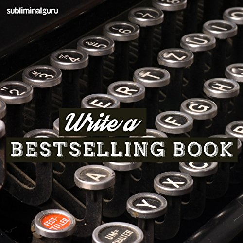 Write a Bestselling Book audiobook cover art