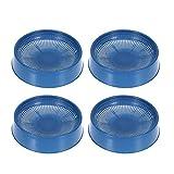 POPETPOP Lot de 4 bols en plastique pour nid d'oiseau