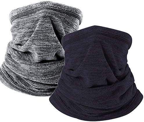 Winter Neck Gaiter Scarf Mask Fleece Snow Neck Warmer Face Mask Windproof Thermal Breathable product image