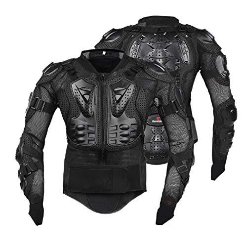 Sportinents Chaqueta de Motocicleta Hombres Motocicleta Armadura Cuerpo Completo Motocross Racing Protección de Engranajes BK Armor 4XL