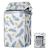 Queta Tapa de lavadora, cubierta impermeable para lavadora con aberturas superiores, impermeable, resistente al polvo, antiluz solar y antienvejecimiento (60 x 63 x 95 cm)