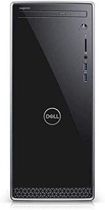 2021 Dell Inspiron 3671 Desktop Computer, 9th Gen Intel Core i7 9700, 24GB DDR4 RAM, 1TB HDD+ 512GB SSD, Intel UHD Graphics 630, HDMI, VGA, Windows 10, Black