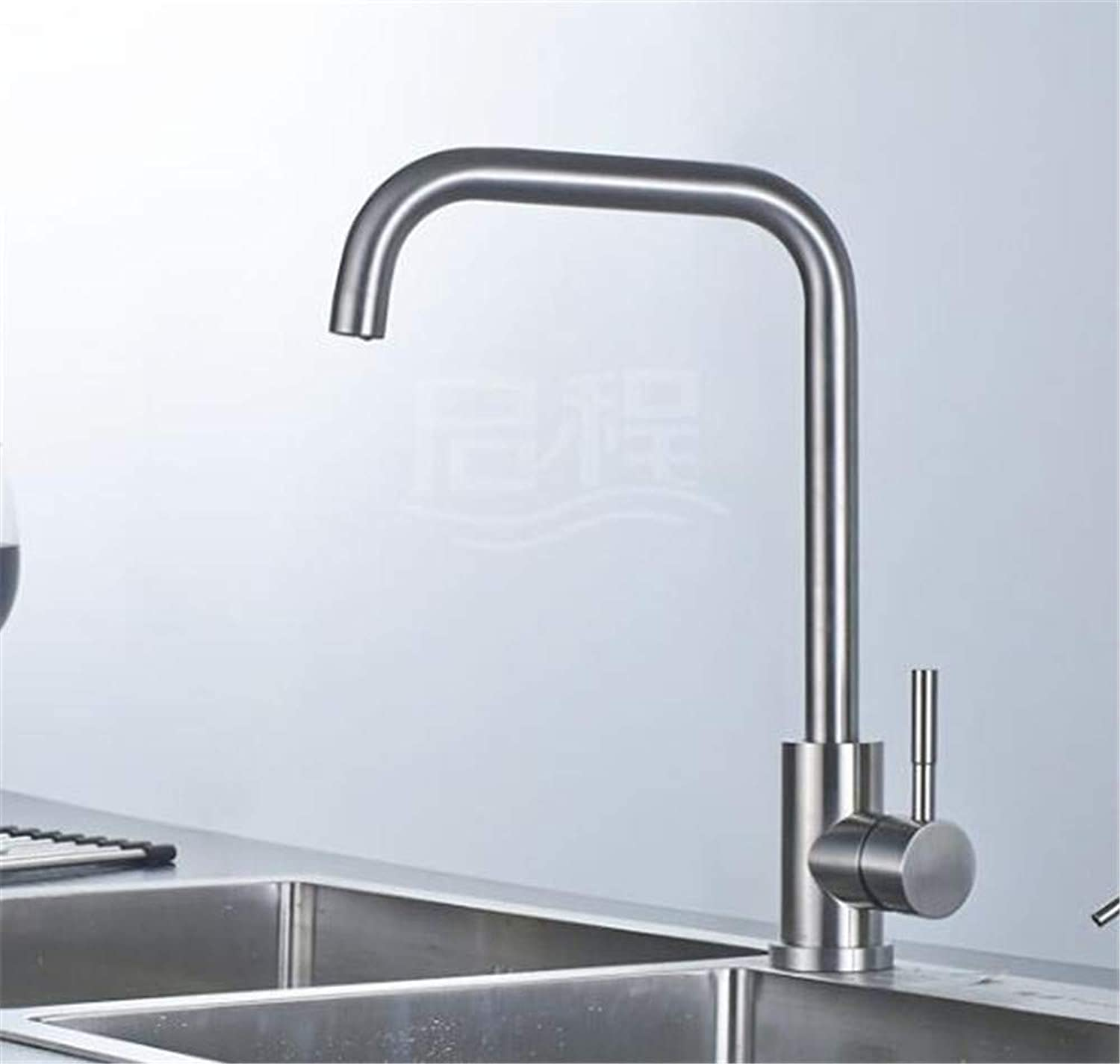 Decorry Hot and Cold Taps 304 Lead Mixer U Cylindrical redating Tank 360 with The Braided Tube
