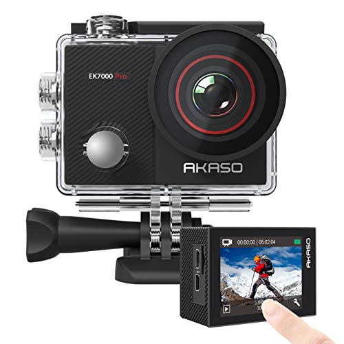 Our #1 Pick is the AKASO EK7000 Pro Action Camera