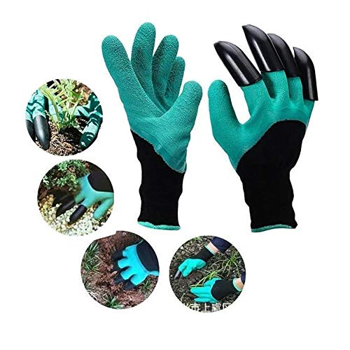 Ousyaah Garden Genie Gloves, Gants de Jardinage étanches pour Creuser, Planter et Jardiner