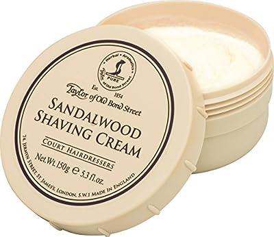 Taylor of Old Bond Street 150g Sandalwood Shaving Cream Bowl by Taylor of Old Bond Street