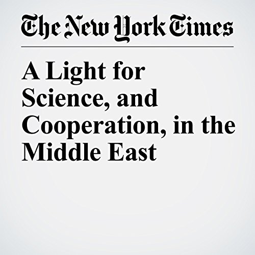 A Light for Science, and Cooperation, in the Middle East copertina