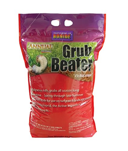 Bonide Products Annual Grub Beater Insect Control with Systemaxx - Size 18 lbs
