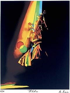Serigrafie d'autore: Il Violino - stampa serigrafia e Poster
