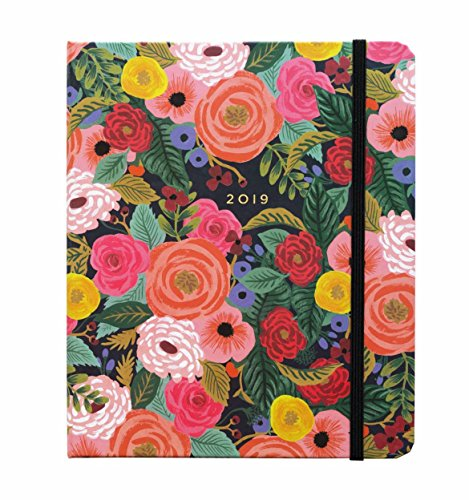 Juliet Rose Weekly 17 Month Planner with Stickers - August 2018 to December 2019 - by Rifle Paper Co.