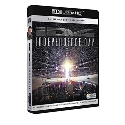 Independence Day (4K Ultra Hd + 2 Blu Ray Disc)