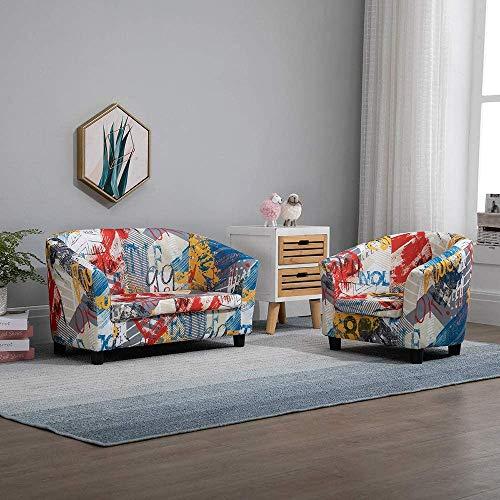 Conjunto de sillas de sofá para niños, sofá de cuero PU con cojín, silla de sofá infantil, sillón de sofá con cojín,1 2 Sofa