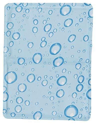 TRIXIE Alfombrilla Refrescante, XL: 90×50cm, Azul Claro, Pe