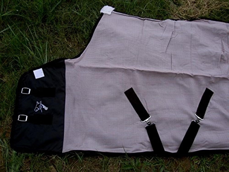 CHALLENGER Horse Cotton Sheet Blanket Rug Summer Spring Pink Grey 5314
