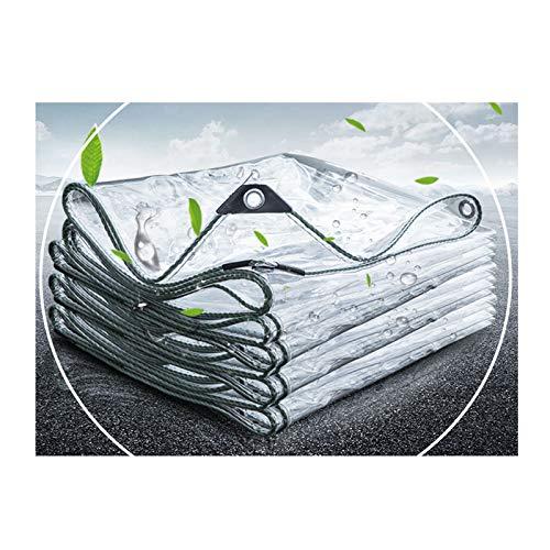 DLLY Lona Resistente,Toldos Duradera,0,3 Mm,con Ojales Y Cuerda,para Plantas,Granjas,Pastos,Patios,Garajes,Lona Resistente A La Intemperie,Impermeable,Resistente Al Desgarro,0.8x2m/2.6 * 6.6ft
