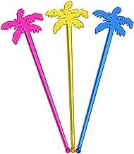 pl/ástico Flamingo Mixing Agitador Party swizzle Sticks Besto nzon C/óctel Mixing Sticks 10St Rose Red