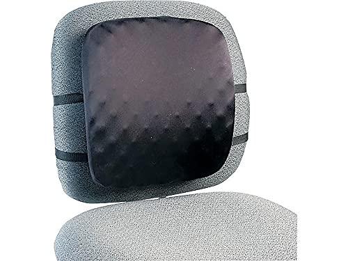 Kensington Almohadilla de Apoyo para Silla de Respaldo Alto, 13 W x 1 – 1/2d x 13 – 3/4h, Color Negro