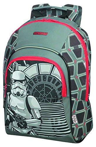 American Tourister New Wonder - Kinderrucksack S+, 35 cm, 11.1 L, Mehrfarbig (Star Wars Storm Trooper)