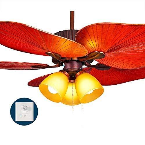 BCX el Ventilador de Techo de iluminación en el sudeste asiático, el Restaurante American Lounge, Las Habitaciones del Desglose del Ventilador económico con Luces de araña Iluminación Interior (Edici