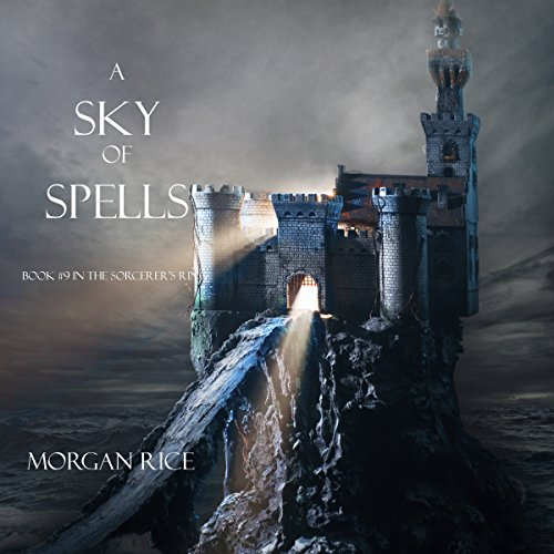 A Sky of Spells audiobook cover art