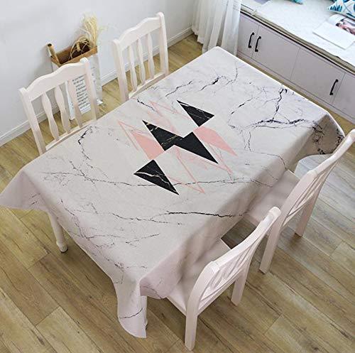 Boekenkleed, tafelkleed van katoen, dik tafelkleed, restaurant, creatieve tafelkleed, woonkamer (kleur: J, grootte: 100 x 140 cm)
