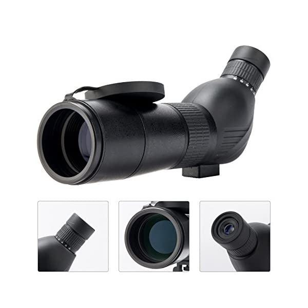 Sfeomi Spotting Scope Zoom Waterproof Spotting Scope with Tripod for Target Shooting Bird Watching Hunting Wildlife Scenery
