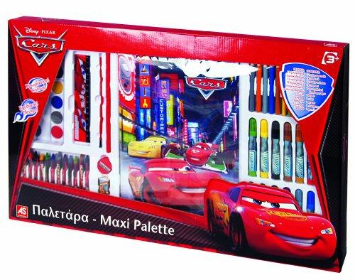 As Company - 6459 - Kit De Loisirs Créatifs - Cars Maxi Palette À Dessin