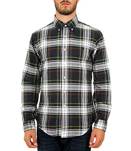Polo Ralph Lauren Camicia Oxford Scozzese Slim-Fit Uomo MOD. 710723608 S