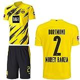 PUMA Borussia Dortmund BVB Heimset 2020 2021 Home Kit Sponsor BL Logo Herren Mateu Morey Bauza 2 Gr XXL