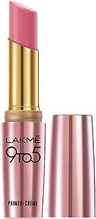 Lakme 9To5 Primer + Crème Lip Color, Rose Alert CP5, 3.6 g