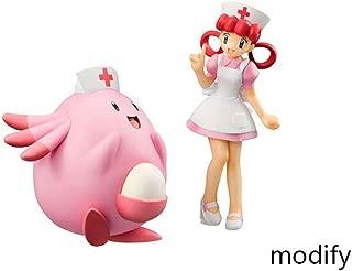 Duzhengzhou Pokémon:Nurse Joy with Chansey - 4.7 Inches PVC Figure