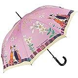 VON LILIENFELD Parapluie Automatique Femme Art Motif Chat Floral Rosina Wachtmeister:...