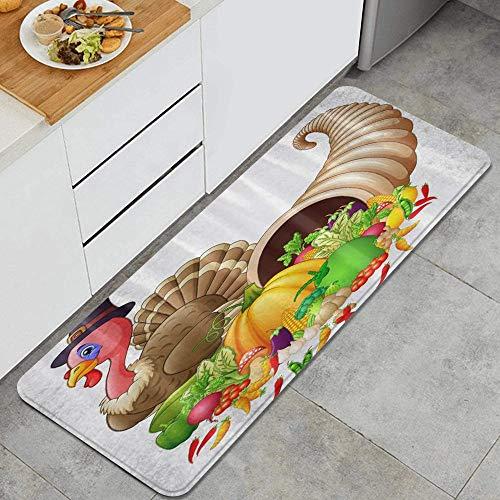 PANILUR Küchenfußmatten Küche...