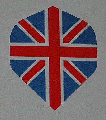 US Dartpfeile – 5 Sets (15 Flights) – Union Jack England – Standard Dart-Flights