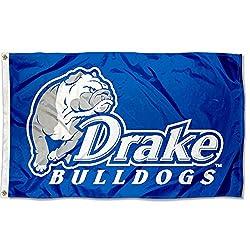 Desert Cactus Drake University Bulldogs NCAA 100/% Polyester Indoor Outdoor 3 feet x 5 feet Flag Flag 15a