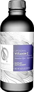 Quicksilver Scientific Liposomal Vitamin C - Potent Antioxidant Formula, 1000ml Buffered Ascorbate Liquid with Phospholipids, Immune System Support (4oz / 120ml)