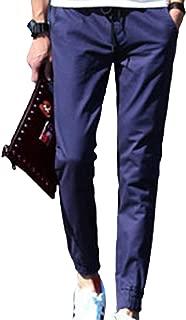 【在庫処分】[スカイシイ] ジョガーパンツ スウェットパンツ カーゴパンツ テーパード 無地 オールシーズン M~2XL メンズ