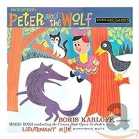 PROKOFIEV:PETER AND THE WOLF; LT. KIJE