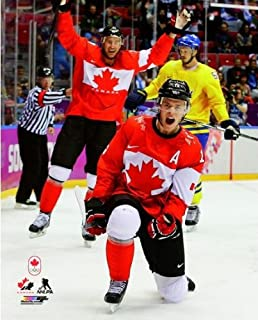 Jonathan Toews Team Canada 2014 Winter Olympics Gold Medal Game Photo (Size: 8
