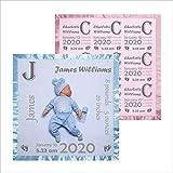 Custom Baby Blanket with Name, 36x36 in, Soft Fleece, Satin Trim | Name Blanket for Baby Boy, Personalized Baby Blanket | Custom Baby Gifts, Monogram Baby Blanket | New Born Personalized Blankets