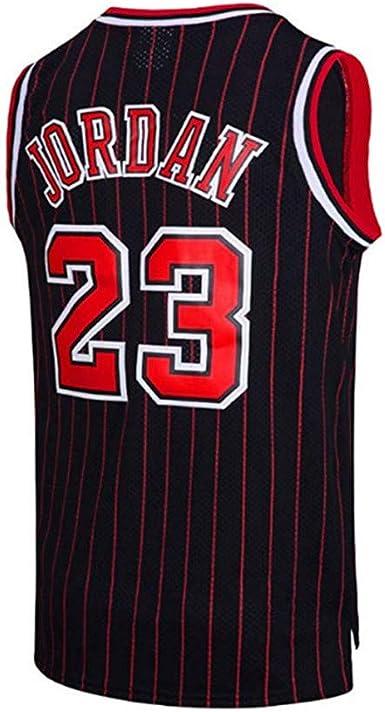 Camiseta De Baloncesto para Hombre El Mejor Jugador De Baloncesto Chicago Bulls Michael Jordan Swingman Camisa De Manga Corta Ropa para Jóvenes ...