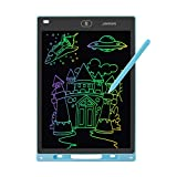 JAMIEWIN 12 Inch LCD Writing Tablet, Colorful Drawing Doodle Board for Kids, Toddler Drawing Pad Writing Board for Kids, Christmas Birthday Gifts for Boys Girls Home Office Memo Blue