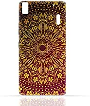 lenovo K3 Note / A7000 TPU Silicone Case with Floral Pattern 1201