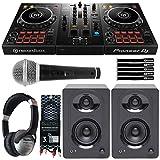 Pioneer DDJ-400 Rekordbox DJ Controller+Monitors + Headphones DJ Starter Package