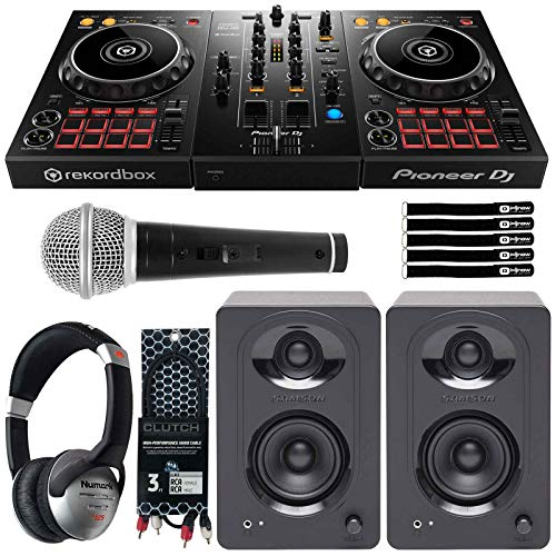 Why Choose Pioneer DDJ-400 Rekordbox DJ Controller+Monitors + Headphones DJ Starter Package