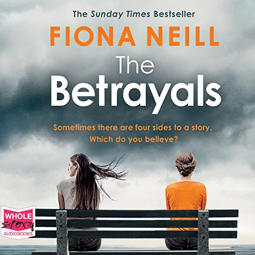 The Betrayals audiobook cover art