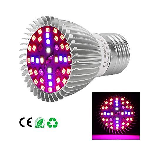 Kamerplant Groei Lamp Volledig Spectrum LED-plantenverlichting PAR-verlichting Gelden for Binnen Kas Bloemen Groenten Fabriek Groeiend (Size : 40 beads 2835)